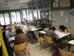 L'Acquario / Biblioteca studenti